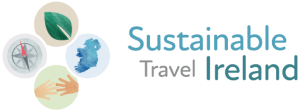 sustainable travel ireland logo positive